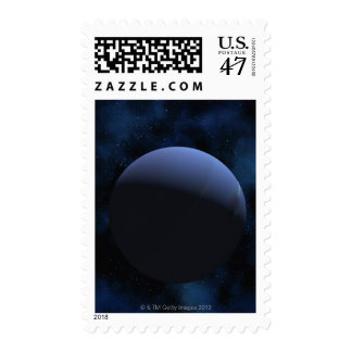 Neptune planet stamp