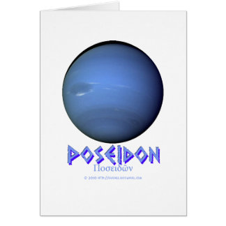 Neptune - Poseidon - Gods of Old Card