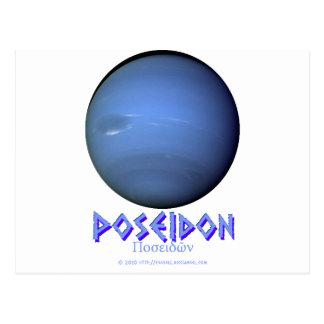 Neptune - Poseidon - Gods of Old Postcard