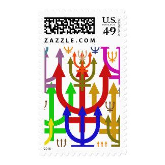 Neptune Postage Stamp