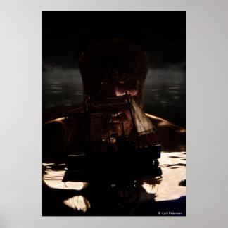 """Neptune"" poster by Cyril Helnwein"