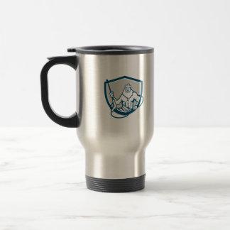 Neptune Power Washer Shield Retro Travel Mug