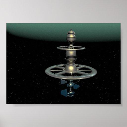 Neptune Probe Poster