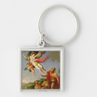 Neptune Pursuing Coronis, 1665-70 (oil on canvas) Keychains