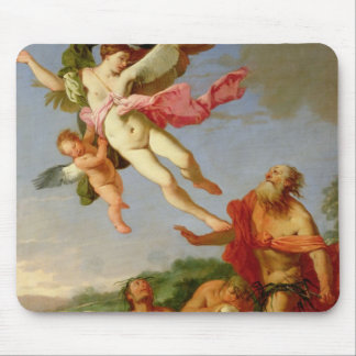 Neptune Pursuing Coronis, 1665-70 (oil on canvas) Mouse Pad
