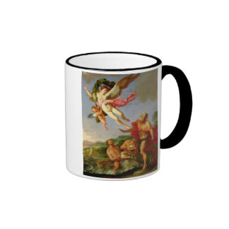 Neptune Pursuing Coronis, 1665-70 (oil on canvas) Coffee Mugs