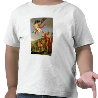 Neptune Pursuing Coronis, 1665-70 (oil on canvas) Tee Shirt