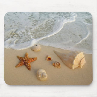 Neptune s Gifts Shells Mouse Pad