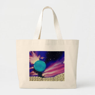 Neptune Space Universe Sky Stars Scifi Bag