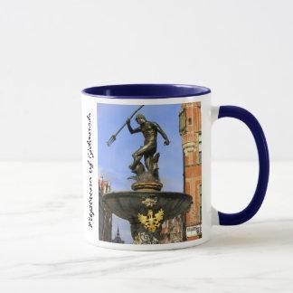 Neptune Statue Mug