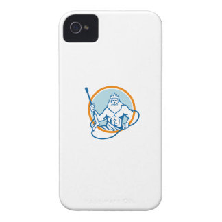 Neptune Water Blaster Circle Retro iPhone 4 Case-Mate Case