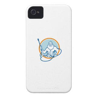 Neptune Water Blaster Circle Retro iPhone 4 Cover