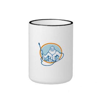 Neptune Water Blaster Circle Retro Ringer Mug