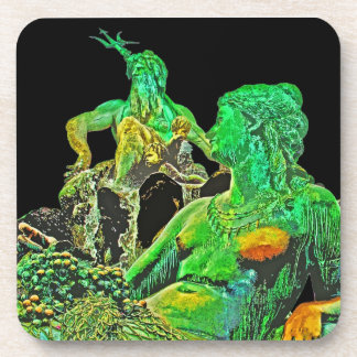 Neptunes Fountain, Alexanderplatz, Berlin(n3ctblk) Coaster