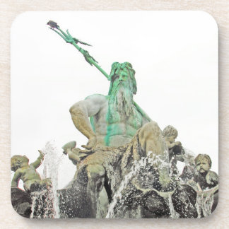 Neptunes Fountain, Alexanderplatz, Berlin (n6norm) Coaster