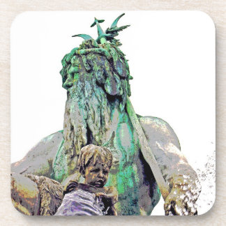 Neptunes Fountain, Alexanderplatz,Close(1) Drink Coaster