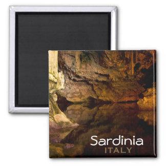 Neptune's Grotto, 'Sardinia, Italy' text magnet