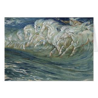 Neptune's Horses, Card