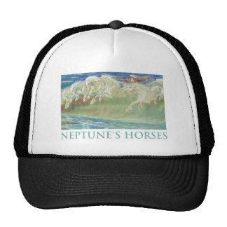 NEPTUNE'S HORSES RIDE THE WAVES TRUCKER HAT