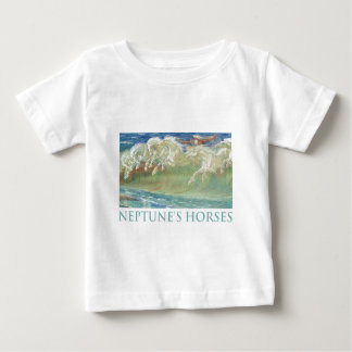 NEPTUNE'S HORSES RIDE THE WAVES T-SHIRTS