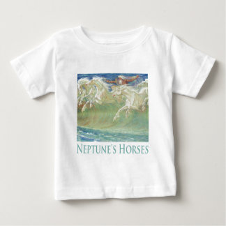 NEPTUNE'S HORSES RIDE THE WAVES TEE SHIRTS
