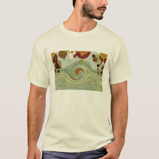Neptune's MOONS - Abstract T-Shirt