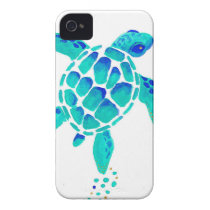 Neptune's Turtle Case-Mate iPhone 4 Case