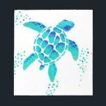 "Neptune&#39;s Turtle Notepad<br><div class=""desc"">Notepad</div>"