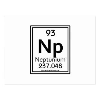 Neptunio 93 tarjeta postal