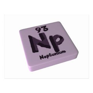 Neptunio de NP Tarjetas Postales