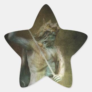Neptuno Pegatinas Forma De Estrellaes