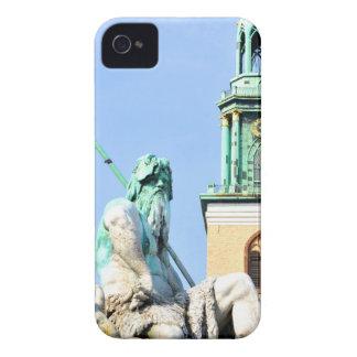Neptun's fountain in Berlin, Germany iPhone 4 Case