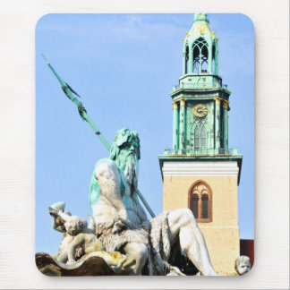 Neptun's fountain in Berlin, Germany Mouse Pad