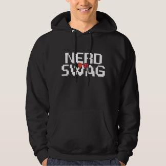 Ner Swag Bow Tie Hooded Sweatshirt