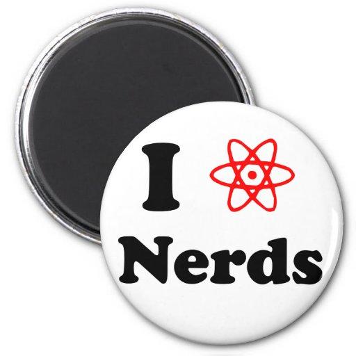Nerd 2 Inch Round Magnet