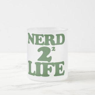 Nerd 4 Life 10 Oz Frosted Glass Coffee Mug