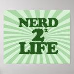 Nerd 4 Life Poster