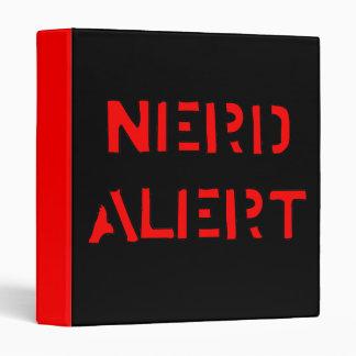 Nerd Alert Binder