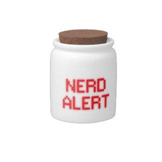 Nerd Alert Candy Jar