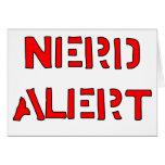 Nerd Alert Greeting Card