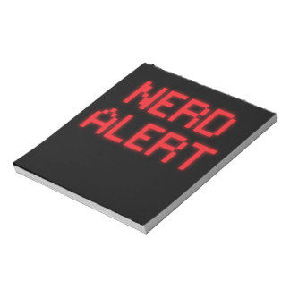 Nerd Alert Notepad