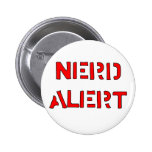 Nerd Alert Pinback Button