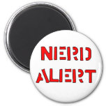 Nerd Alert Refrigerator Magnets