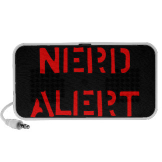 Nerd Alert Mp3 Speakers