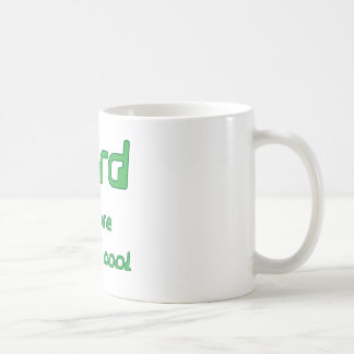 Nerd before it was cool Square format Mug