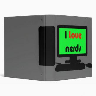 nerd vinyl binders
