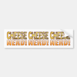 Nerd Blue Cheese Bumper Sticker