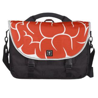 Nerd brain commuter bags