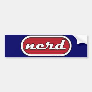 Nerd Bumper Sticker