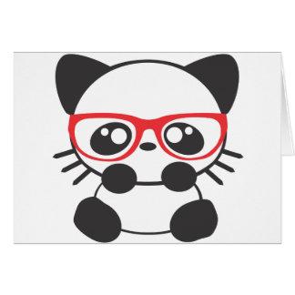 Nerd Cat Card